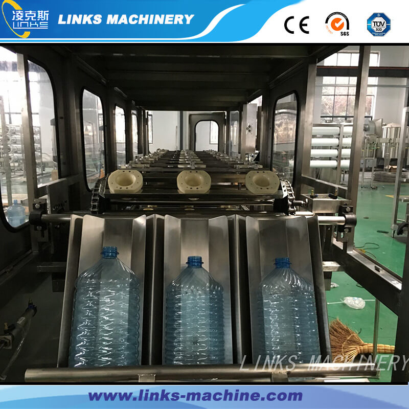 450BPH Automatic 3-5 Gallon Water Bottling Machine