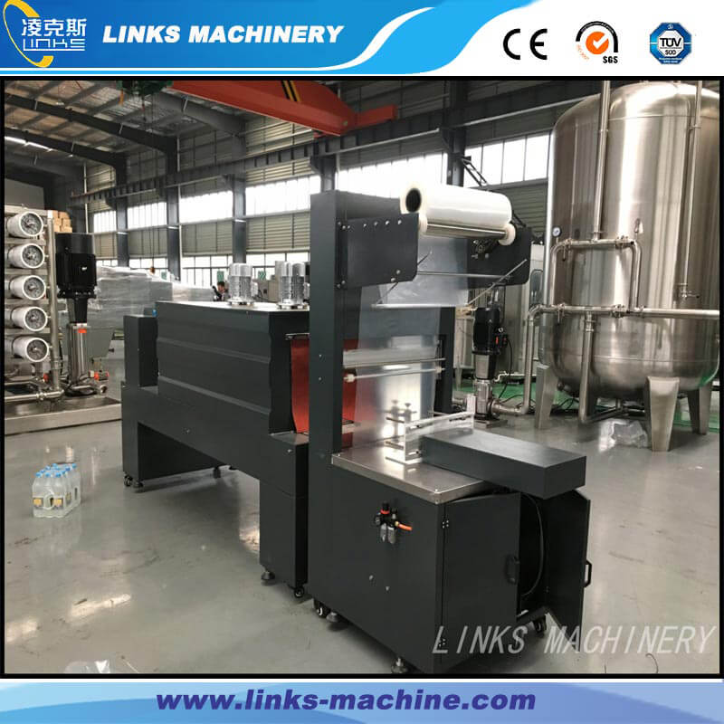 Automatic Bottle Film Wrapping Packing Machine